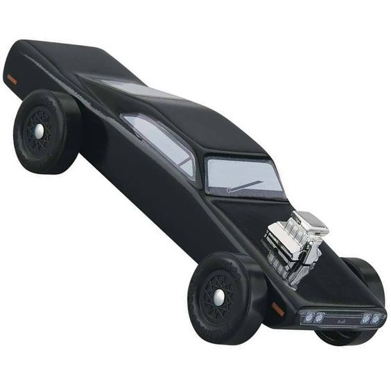 Revell Muscle Car Pinewood Derby Car Kit