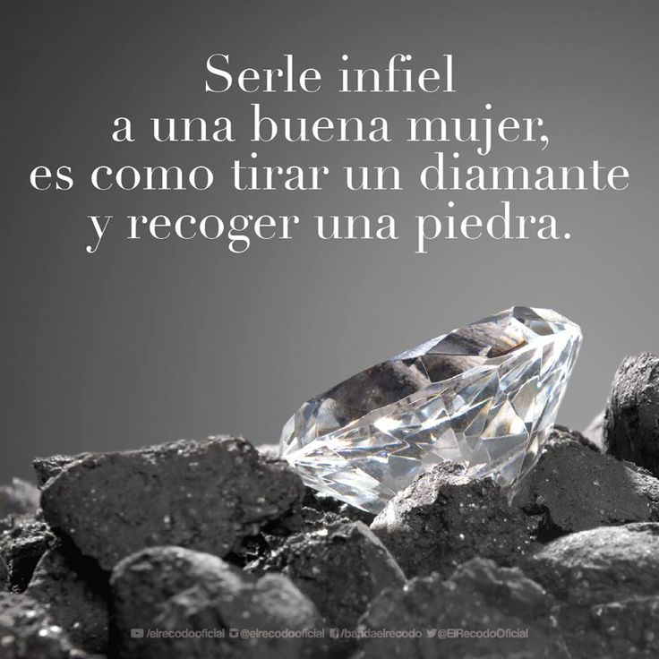 Being unfaithful to a good woman is like throwing away a diamond and picking up a rock. True for both spouses