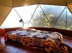 home decor hippie hipster bedroom boho indie retro bohemian interiors Window gypsy yurt gypset south west geometric dome