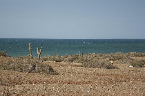 Mar en el desierto