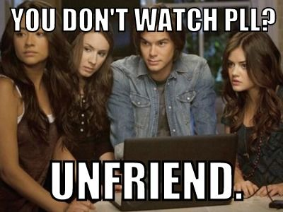 funnny pretty little lairs  pics | Funny Pretty Little Liars Memes, PLL Photos | Teen.com