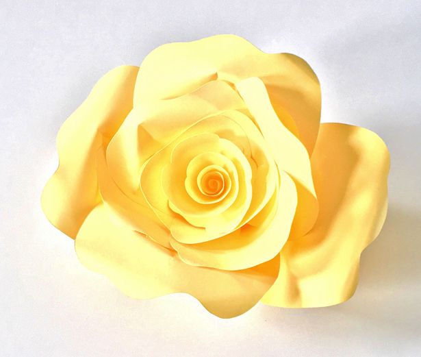 hello, Wonderful - HOW TO MAKE DIY PAPER ROSES WITH FREE PRINTABLE TEMPLATE
