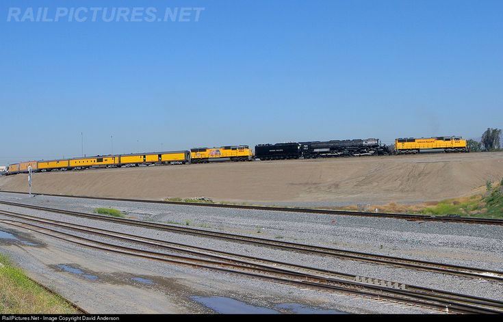 RailPictures.Net Photo: UP 4014 Union Pacific Steam 4-8-8-4 at Bloomington, California by David Anderson