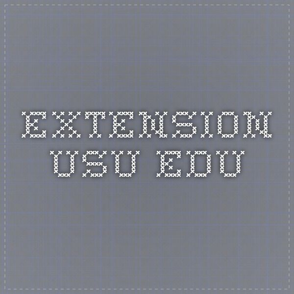 extension.usu.edu blackberries