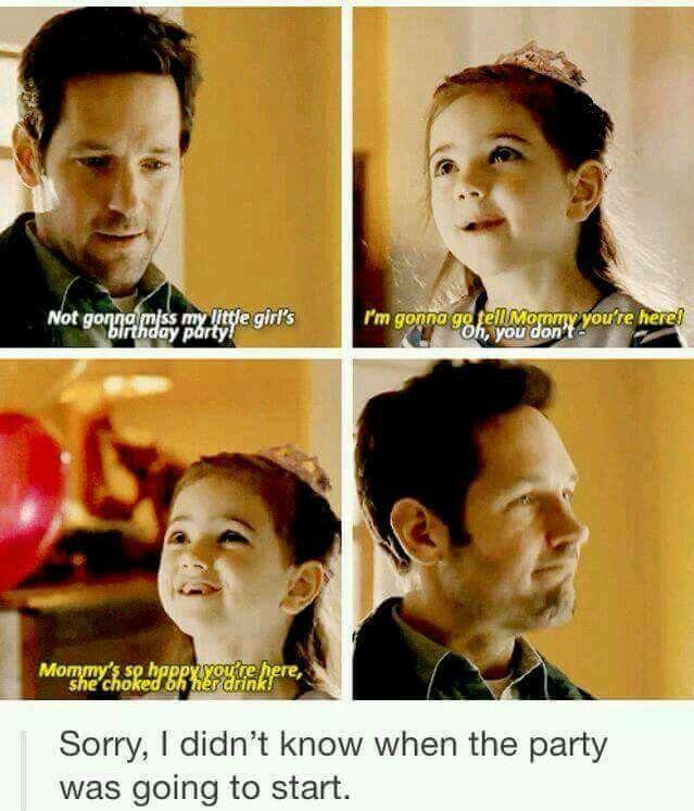 Scott's precious daughter