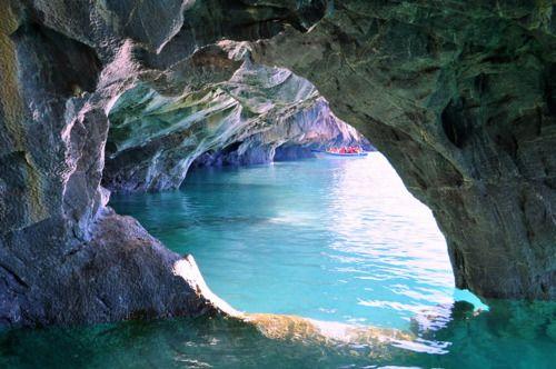 Marbel Caves, Patagonia