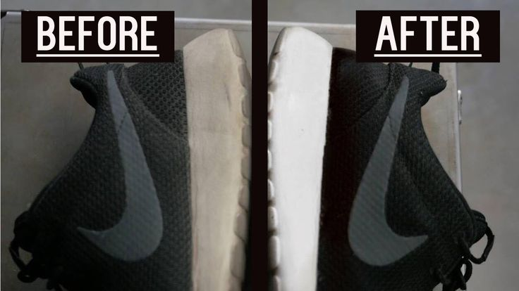 how to clean white sneakers with cake soap