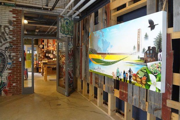 Evergreen Brick Works - Rediscover Toronto Week 4 - Staying Native