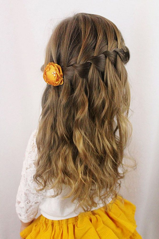 hairstyles for flower girl 22
