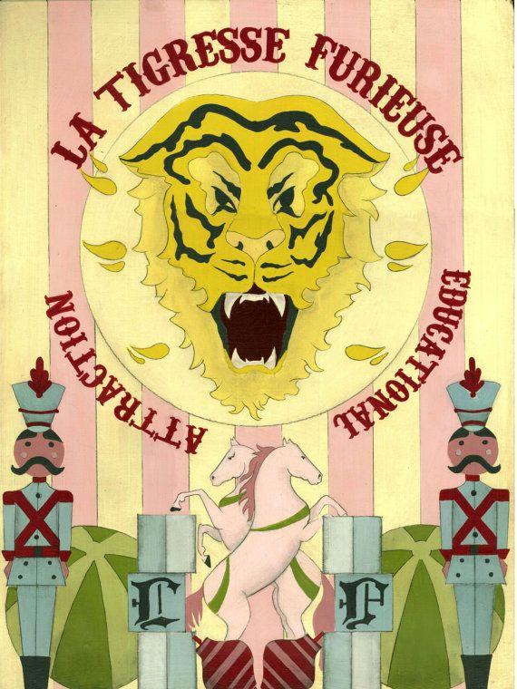 la tigresse furieuse by Virginia Diakaki
