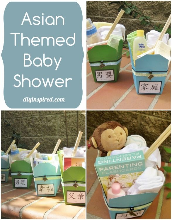 Cute Centerpieces or gifts for an Asian Themed Baby Shower