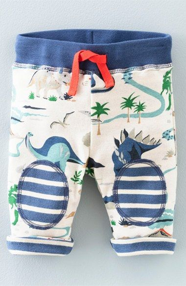 Mini Boden Reversible Cotton Jersey Pants (Baby Boys & Toddler Boys
