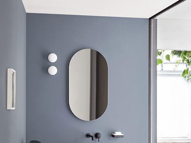 I CATINI Specchio ovale Collezione I Catini by Ceramica Cielo design Andrea Parisio, Giuseppe Pezzano
