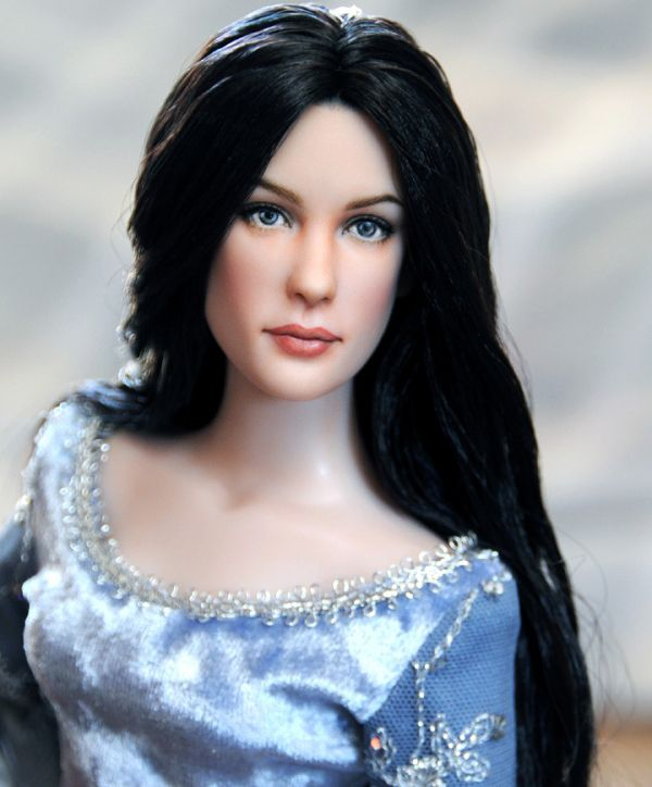 Liv Tyler as Arwen (The Lord of the Rings) Realistic Celebrity Dolls by Noel Cruz