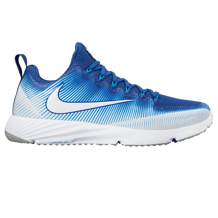 Nike Vapor Speed Lax Turf in Blue/White Mesh and foam upper for breathable  comfort