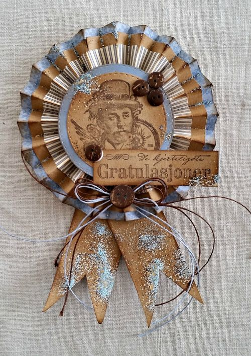 Steampunk Card - Mette Buskum - Stempelglede :: Design Team Blog