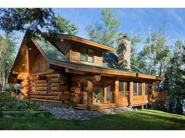 kutuk ev dag evi chalet log house