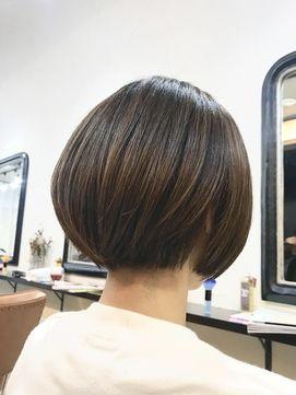 エトネ ヘアーサロン 仙台駅前(eTONe hair salon)お客様ヘアー ショートボブ