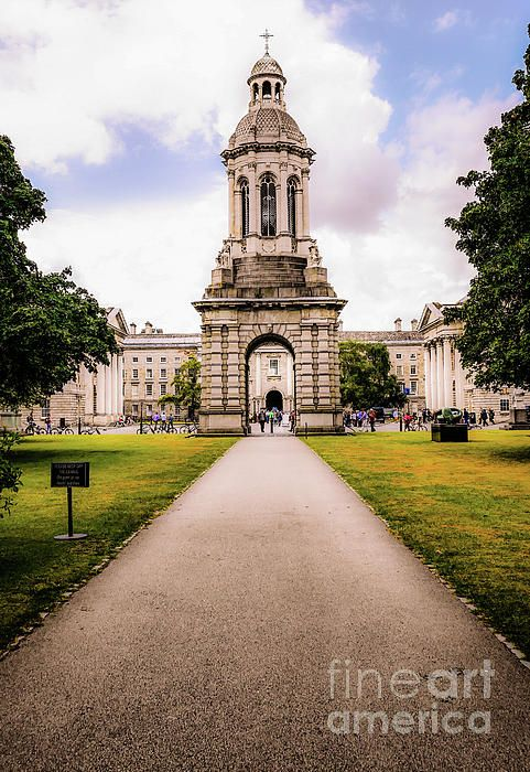 Trinity College Dublin, Ireland.  Visit my photo gallery and get a beautiful Fine Art Print, Canvas Print, Metal or Acrylic Print OR Home Decor products. 30 days money back guarantee on every purchase so don't hesitate to add some Irish Magic in your home or office.