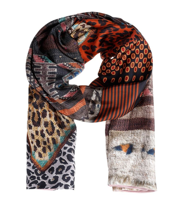Foulard Aloe Wonderful Soie 38364 - PIERRE LOUIS MASCIA
