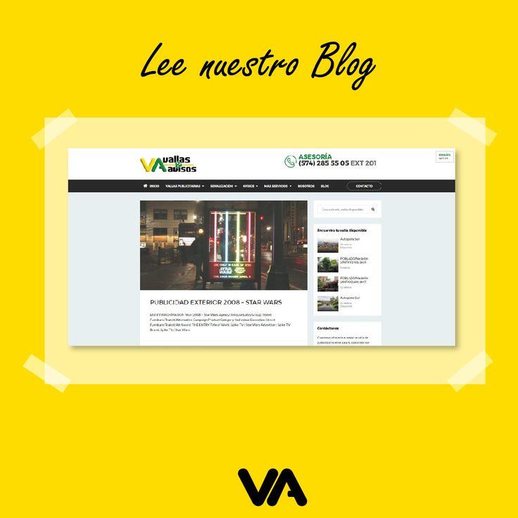 ¿Quieres conocer más acerca de la #PublicidadExterior ? visita nuestra página web www.vallasyavisos.com , te aseguramos encontrarás un profundo mar de conocimientos creativos. #PublicidadExterior #VallasyAvisos #LaMejorPublicidad