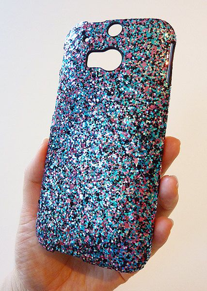 htc one m8 phone case for girls. for htc one m8 multicolor specks sequin cluster phone case by yunikuna htc girls