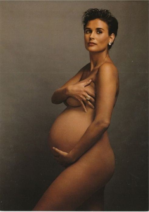 5 of Annie Leibovitz's Most-Discussed Photographs: Demi Moore by Annie Leibovitz