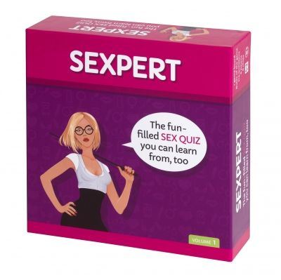 tease & please | SEXPERT The game contains more than two hundred question cards (some illustrated), one game board, six pawns, and six answer chips. Players take turns drawing a card from the stack.Some cards players will answer on their own; others are for the whole group. Whether you know a lot or a little, whether talk of sex makes you blush or prick up your ears: you'll always learn something new when you play SEXPERT!