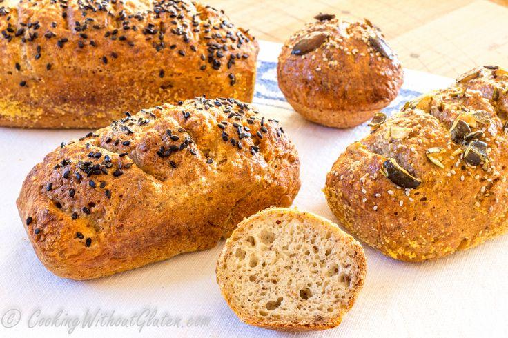 В данной статье представлен обзор рецептов дрожжевого хлеба без глютена из смеси различных видов муки, различных источников жира, испеченных в различных формах, как в виде обычной буханки хлеба, в …