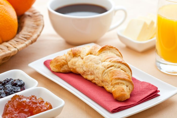 continental breakfast ...