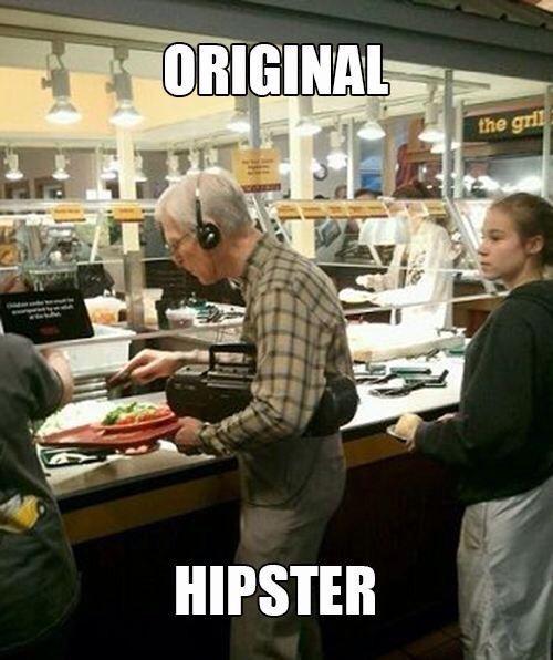 Original hipster funny