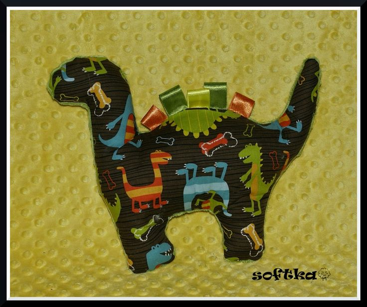 Dino made with fabric Michael Miller. Do you like it?