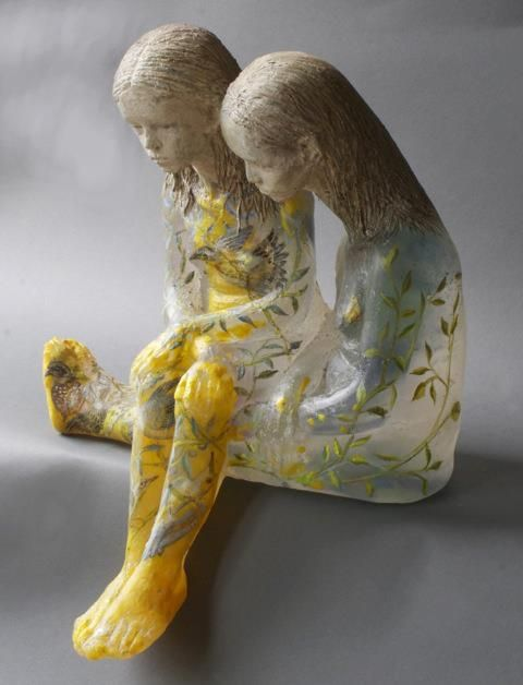 Christina Bothwell - glass sculpture. Adore this.