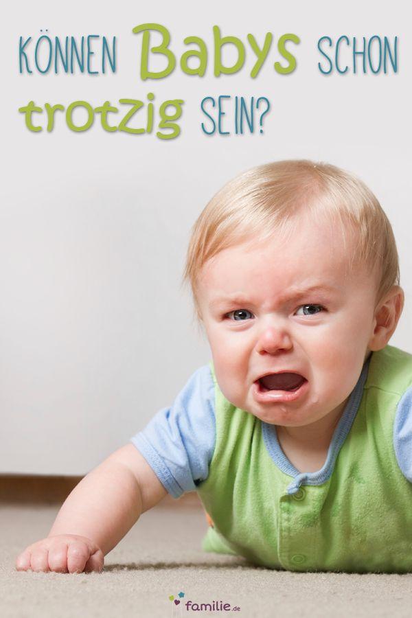 Oh Ja! Auch Babys haben schon ihren eigenen Kopf. Lest hier, was bei kleinen Wüterichen hilft. #baby