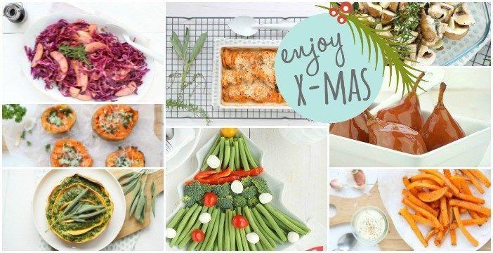 Een handig en lekker overzicht met bijgerechten voor Kerst. Voor het kerstdiner, naast een hoofdgerecht. Ze bevatten veel groenten. Groente bijgerechten.