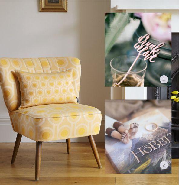 Handmade dream home - cocktails and a good book