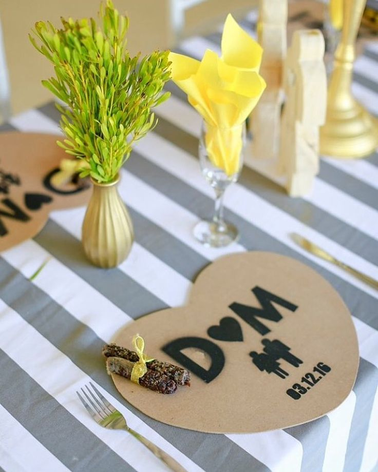 What stunning decor! Yellow and gold make such a great combination and it truly just brightens the entire mood!