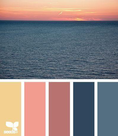 8 Best Sunset Color Schemes Images On Pinterest Color