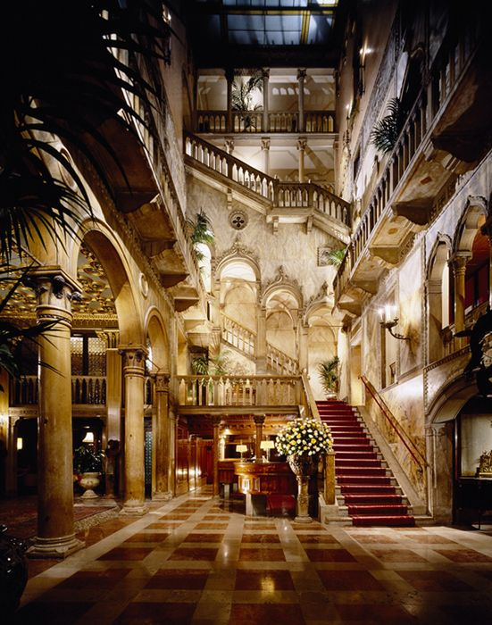 Hotel Danieli, Venice #luxurydesign #luxuryhotel #hoteldesign luxury holidays, lux travel, boutique hotel design. Visit www.memoir.pt