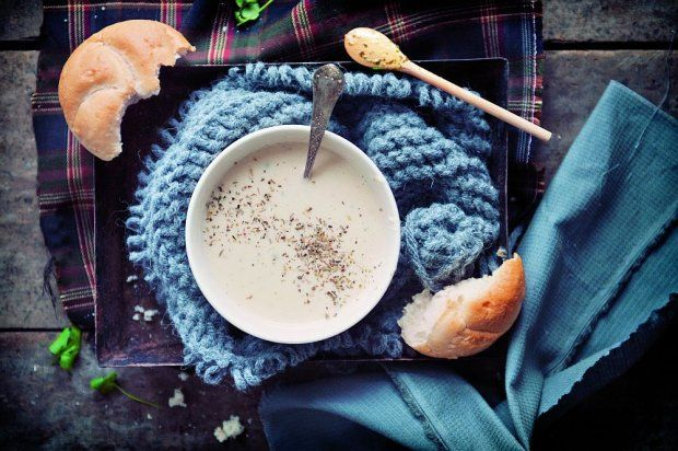 Zupa krem pietruszkowo-gruszkowa