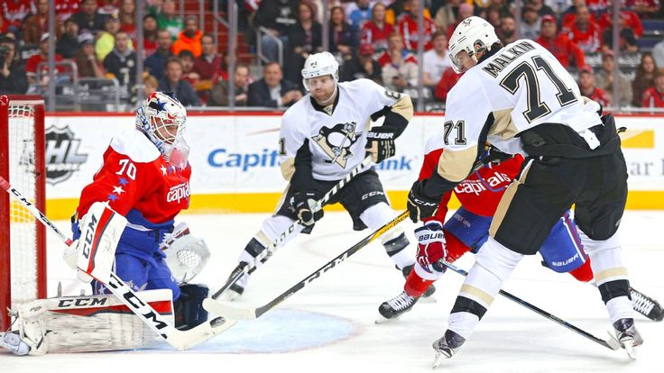 W2W4: Pittsburgh Penguins at Washington Capitals, Game 1