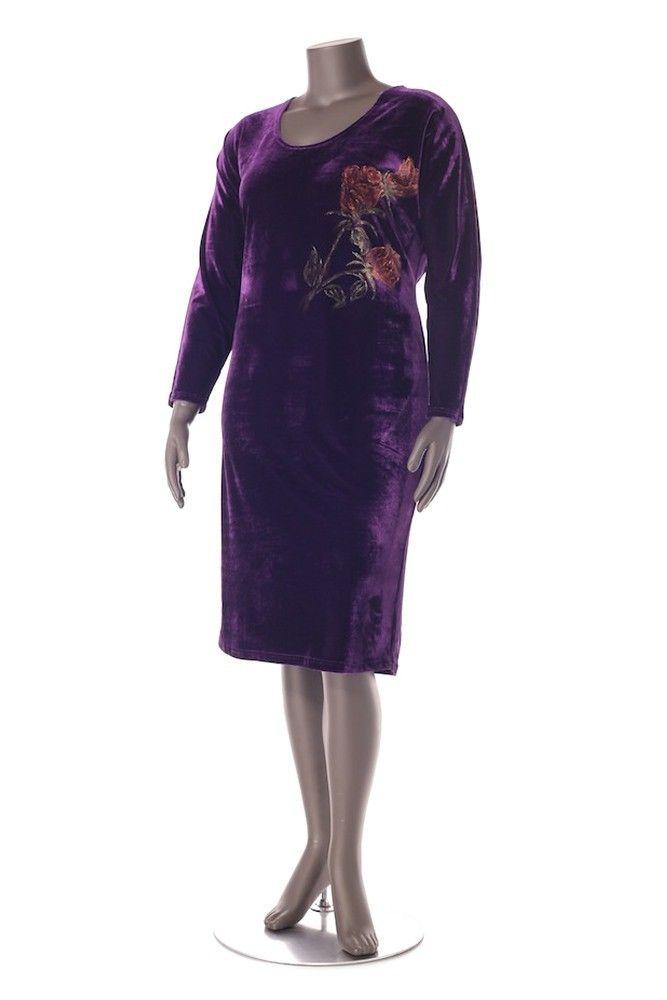 Velvet dress Composition : 60% viscose, 40% polyester. Order by phone : +4 0727 781 988