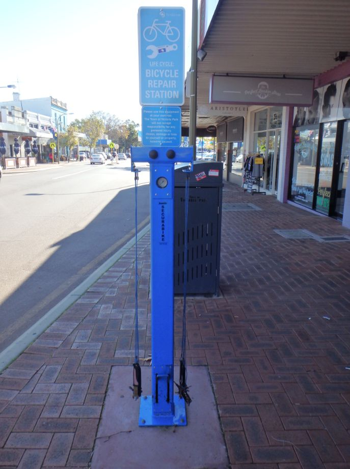 Bicycle repair stations | Town of Victoria Park
