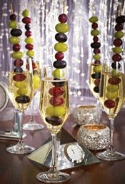 """A Spanish custom spanning back to 1895, those who practice """"the twelve grapes of luck"""" are said to be provided with a year of prosperity.  Add this festive ritual to your celebration by eating a grape with the ringing of each bell at midnight on New Year's Eve."""