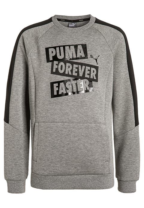 PUMA SPORTS STYLE - Sweatshirt medium gray heather Kids Sale Clothing,Cheap Puma For Sale | Buy Puma online now discount uo to 70% off today