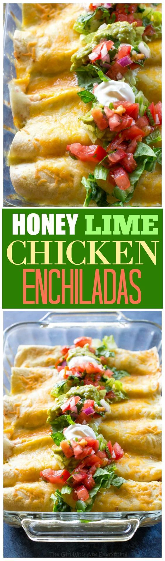 632 best eat mexican food images on pinterest recipes baking honey lime chicken enchiladas my go to easy mexican dinner for company that is forumfinder Choice Image