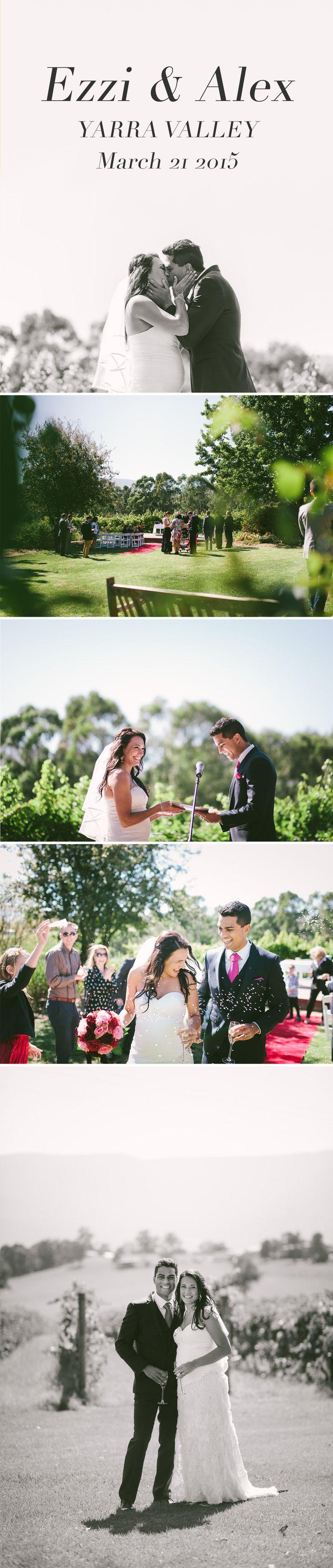 Yarra Valley Winery wedding