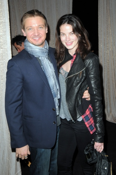 Jeremy Renner and Michelle Monaghan - My #1 celebrity crush and my husbands #1 celebrity crush....