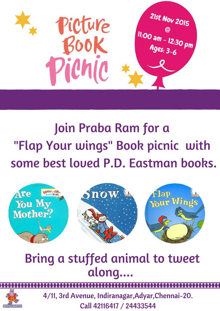 Picture Book Picnic with Praba Ram.