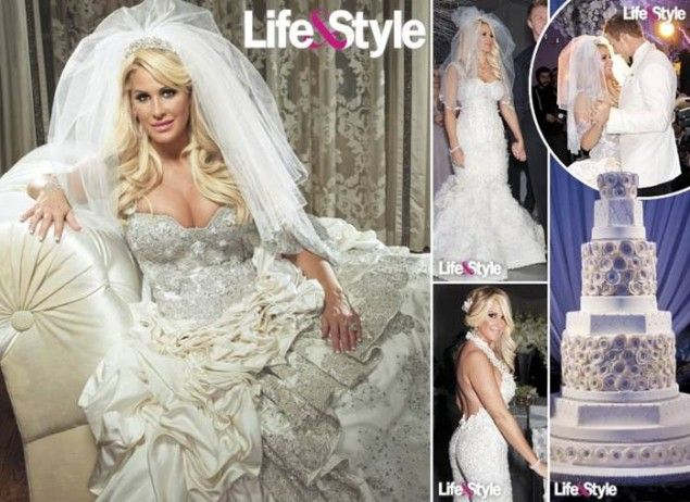 Inside kim zolciak and kroy biermanns million dollar for Kim zolciak wedding dress